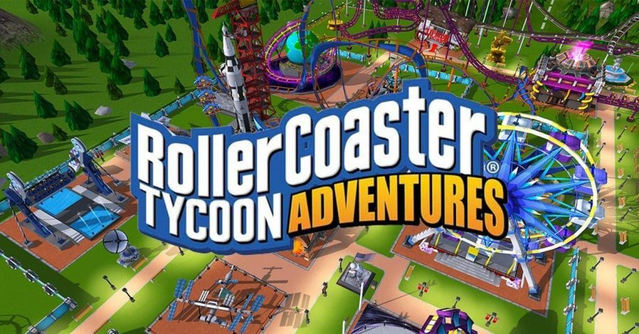 Kiwii Reviews: Roller Coaster Tycoon Adventures
