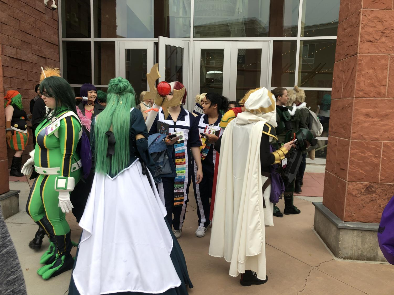 """My Hero Academia"" meetup was a popular turnout at Anime Banzai."