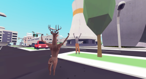 "Indie Game ""DEEEER Simulator: Your Average Everyday Deer Game"" isn"