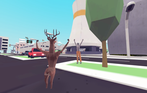 "Indie Game, ""DEEEER Simulator: Your Average Everyday Deer Game"""