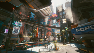 Night City Is All You Need: A Cyberpunk 2077 Impression