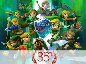 My predictions for the Zelda 35th Anniversary